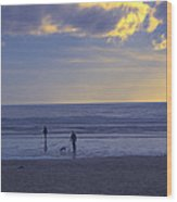 Haceta Head Beach 2 Wood Print