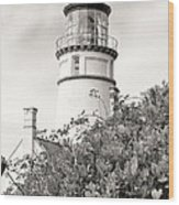 Haceta Head Lighthouse 2 Wood Print