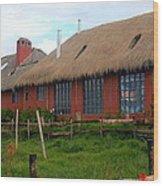 Hacienda El Porvenir Wood Print