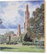 Hadlow Tower Wood Print