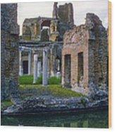 Hadrian's Villa Wood Print