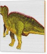 Hadrosaurus Wood Print