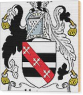 Hadsor Coat Of Arms Irish Wood Print