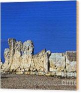 Hagar Qim Stone Temple, Malta Wood Print