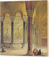 Haghia Sophia, Plate 11 The Meme Wood Print