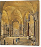 Haghia Sophia, Plate 12 The Meme Wood Print
