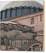 Hagia Sofia Close Up Wood Print