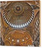 Hagia Sofia Interior 02 Wood Print