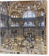 Hagia Sofia Interior 42 Wood Print