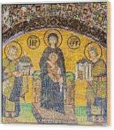 Hagia Sofia Mosaic 03 Wood Print