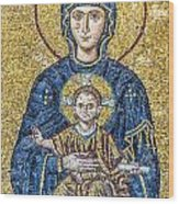 Hagia Sofia Mosaic 05 Wood Print