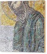 Hagia Sofia Mosaic 12 Wood Print
