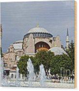 Hagia Sofia Wood Print