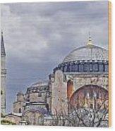 Hagia Sophia 05 Wood Print