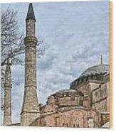 Hagia Sophia 07 Wood Print