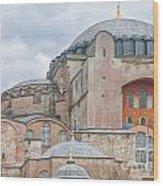 Hagia Sophia 10 Wood Print