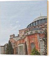 Hagia Sophia 17 Wood Print