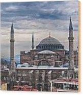 Hagia Sophia 19 Wood Print