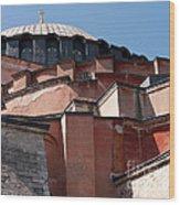 Hagia Sophia Angles 01 Wood Print