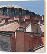 Hagia Sophia Angles 02 Wood Print