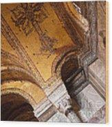 Hagia Sophia Arch Mosaics Wood Print