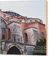 Hagia Sophia Buttresses Wood Print
