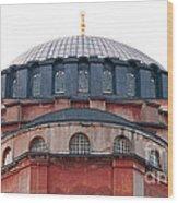 Hagia Sophia Curves 02 Wood Print
