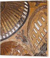 Hagia Sophia Dome 01 Wood Print