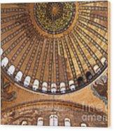 Hagia Sophia Dome 02 Wood Print