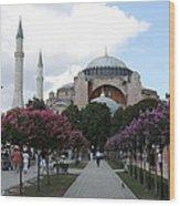 Hagia Sophia I - Istanbul - Turkey Wood Print