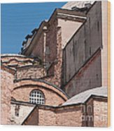 Hagia Sophia Walls 01 Wood Print