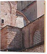 Hagia Sophia Walls 02 Wood Print