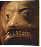 Tlingit Mask Wood Print
