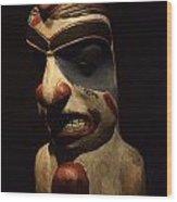Haida Carving 1 Wood Print