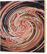 Haida Spiral Wood Print