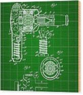 Hair Dryer Patent 1929 - Green Wood Print