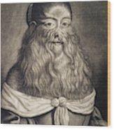 Hairy Maid, 17th Century Wood Print