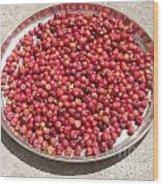 Haitian Cherries Wood Print