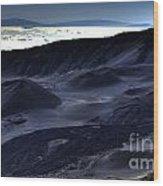 Haleakala Crater Hawaii Wood Print