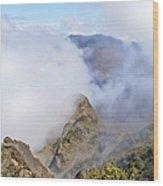 Haleakala Mists Wood Print