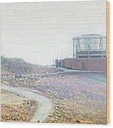 Haleakala Observatories Wood Print