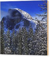 Half Dome Clearing Wood Print