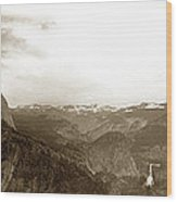 Half Dome From Glacier Point Yosemite Valley  California Circa 1910 Wood Print