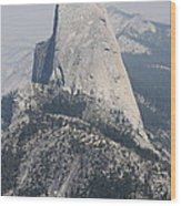 Half Dome Glacier Point Wood Print