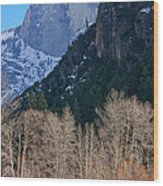 Half Dome - Yosemite Wood Print