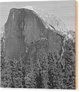 Half Dome Yosemite Wood Print by Heidi Smith