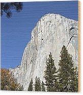 Half Dome Yosemite Wood Print