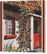 Wexford  Half Door Wood Print