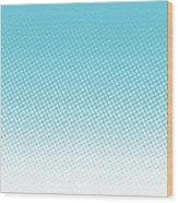 Halftone Background, Pop Art Design Wood Print