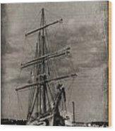 Halifax Harbour Wood Print by John Malone